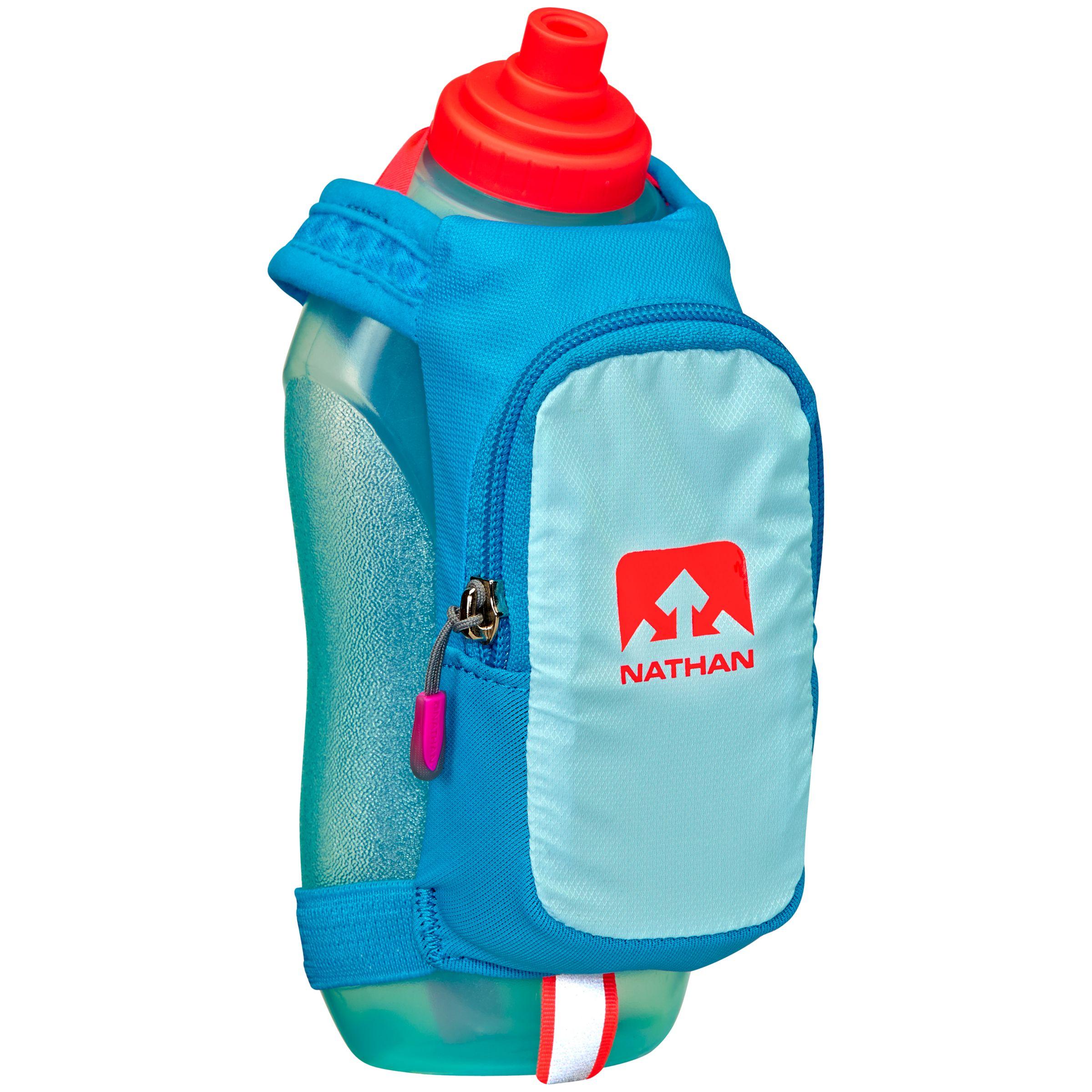 Nathan Nathan SpeedDraw Plus Insulated Handheld Flask, Light Blue