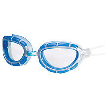 Buy Zoggs Predator Swimming Goggles, Blue/Silver Online at johnlewis.com