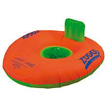 Buy Zoggs Trainer Seat, Orange/Green, 12-18 months Online at johnlewis.com