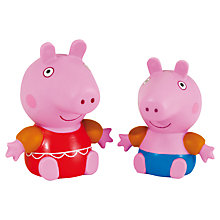 Buy Zoggs Peppa & George Pig Squirts, Pink Online at johnlewis.com