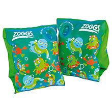 Buy Zoggs Zoggy Armbands, Green Online at johnlewis.com