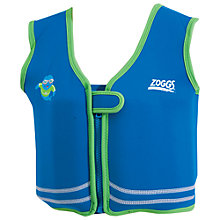 Buy Zoggs Zoggy Bobin Swim Jacket, Blue, 4-5 years Online at johnlewis.com