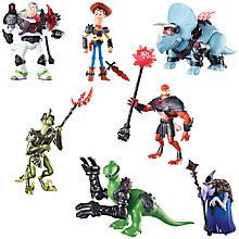 Buy Disney Toy Story Battlesaurs Action Figures, Assorted Online at johnlewis.com