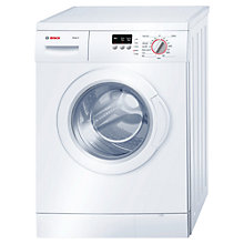 Buy Bosch WAE24063GB Freestanding Washing Machine, 6kg Load,  A+++ Energy Rating, 1200rpm Spin, White Online at johnlewis.com