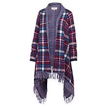 Buy Fat Face Wexford Waterfall Cardigan, Navy Online at johnlewis.com