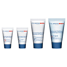 Buy ClarinsMen Skincare Starter Kit Online at johnlewis.com