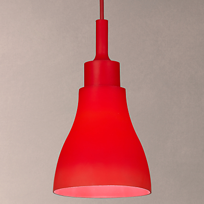 House by John Lewis Silicone Pendant Light