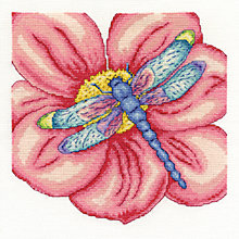 Buy Dragonfly on Flower Tapestry Kit Online at johnlewis.com
