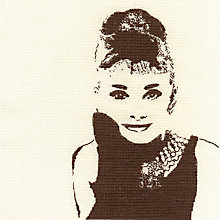 Buy Audrey Hepburn Elegance Tapestry Kit Online at johnlewis.com