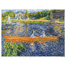 Buy Renoir The Skiff Tapestry Kit, Multi Online at johnlewis.com