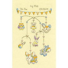 Buy Baby Birthday Mobile Tapestry Kit Online at johnlewis.com