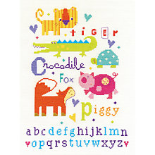Buy Animal Alphabet Tapestry Kit, Multi Online at johnlewis.com