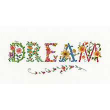 Buy Flower Dream Tapestry Kit Online at johnlewis.com