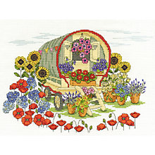 Buy Flower Caravan Tapestry Set Online at johnlewis.com