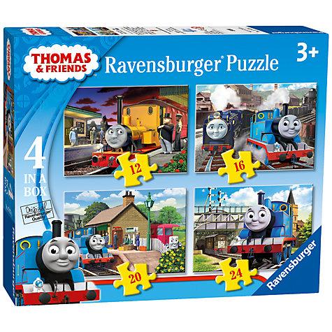 Buy Ravensburger Thomas Amp Friends Jigsaw Puzzles Box Of 4