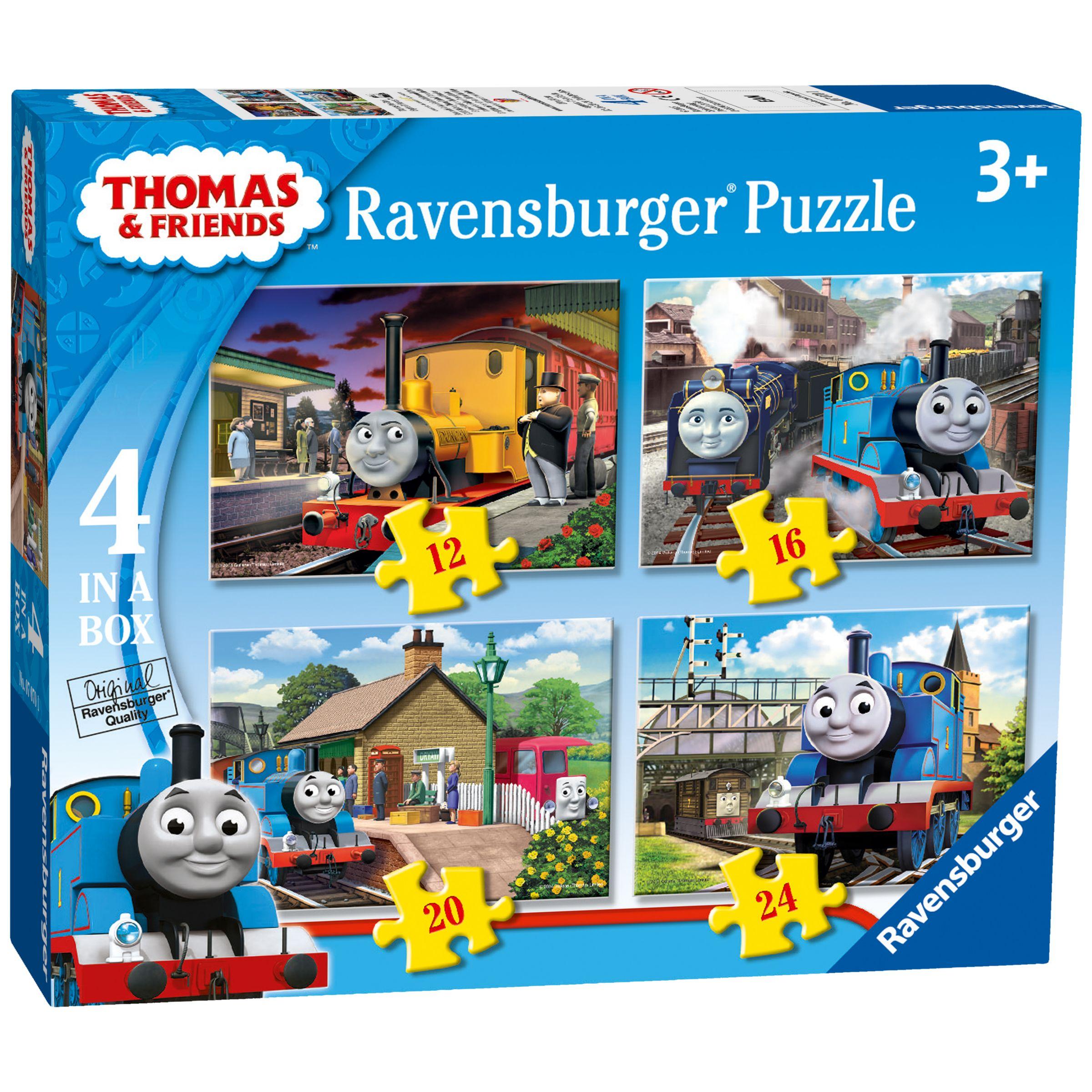 Thomas the Tank Engine Ravensburger Thomas & Friends Jigsaw Puzzles, Box of 4
