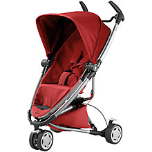 Buy Quinny Zapp Xtra2 Pushchair, Red Online at johnlewis.com