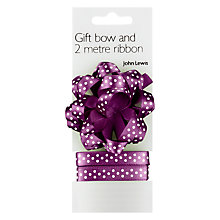 Buy John Lewis Confetti Bow & Ribbon Online at johnlewis.com