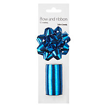Buy John Lewis Shiny Gift Bow and Curling Ribbon, 10 metres Online at johnlewis.com