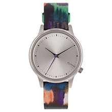 Buy Komono Women's Leather Strap Watch Online at johnlewis.com