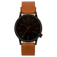 Buy Komono KOM-W2253 Unisex Winston Watch, Regal Cognac Online at johnlewis.com