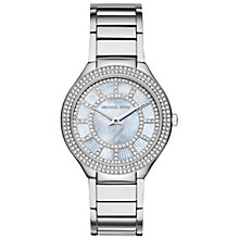 Buy Michael Kors Kerry Stainless Steel Crystal Bracelet Strap Watch Online at johnlewis.com