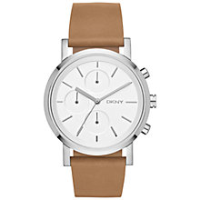 Buy DKNY NY2336 Women's Soho Stainless Steel Leather Strap Watch Online at johnlewis.com