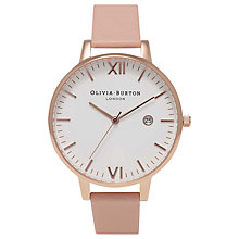Buy Olivia Burton Women's Timeless Leather Strap Watch Online at johnlewis.com