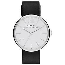 Buy Marc by Marc Jacobs Women's Peggy Leather Strap Watch Online at johnlewis.com