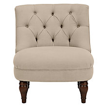 Buy John Lewis Royale II Chair with Natural Legs, Hera Beige Online at johnlewis.com
