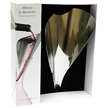 Buy L'Atelier du Vin Decanting Mirror Online at johnlewis.com