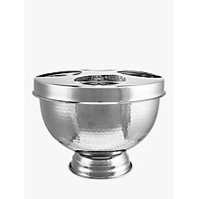 Buy John Lewis Hammered Drinks Bucket with Lid Online at johnlewis.com
