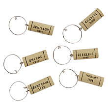 Buy John Lewis Wine Cork Charms Online at johnlewis.com