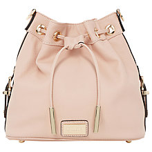 Buy Dune Debecca Drawstring Duffle Bag, Pink Online at johnlewis.com
