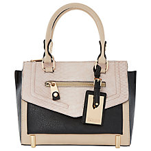 Buy Dune Dinidoree Shoulder Bag, Nude Online at johnlewis.com