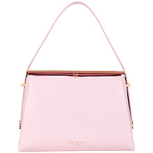Buy Ted Baker Kelli Mini Tote Leather Bag, Baby Pink Online at johnlewis.com