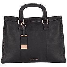 Buy Ted Baker Tottier Leather Stab Stitch Bag Online at johnlewis.com