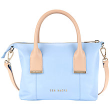 Buy Ted Baker Amelia Leather Mini Tote Bag Online at johnlewis.com