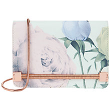 Buy Ted Baker Prissi Distinguishing Rose Clutch Bag, Mint Online at johnlewis.com