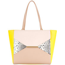 Buy Ted Baker Arabell Textured Leather Colour Block Shopper Online at johnlewis.com