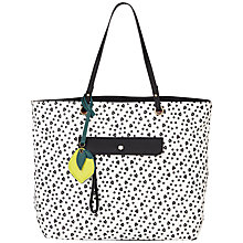 Buy Nica Isla Tote Bag, Black/White Online at johnlewis.com