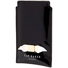 Buy Ted Baker Delanie Slim Bow iPhone Sleeve Online at johnlewis.com