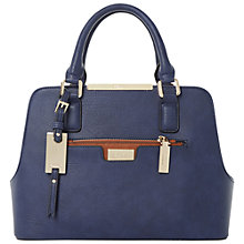 Buy Dune Domino Multi Compartment Bag, Blue/Tan Online at johnlewis.com