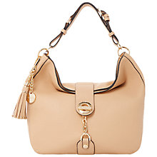 Buy Dune Dobbly Branded Metal Toggle Slouchy Shoulder Bag Online at johnlewis.com