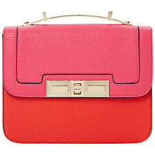 Buy Dune Doddy Mini Satchel Crossbody, Red Online at johnlewis.com