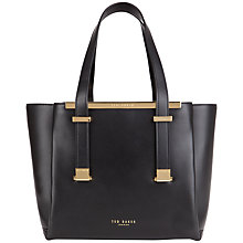 Buy Ted Baker Nena Leather Shopper Bag Online at johnlewis.com