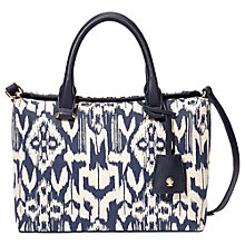 Buy Modalu Austen Mini Tote Bag, Navy Online at johnlewis.com