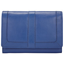 Buy John Lewis Emma Leather Medium Flapover Purse Online at johnlewis.com