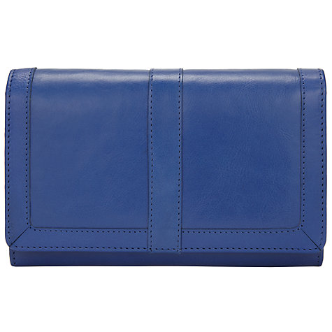Buy John Lewis Emma Leather Large Flapover Purse Online at johnlewis ...