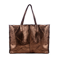 Buy Collection WEEKEND by John Lewis Morgan Raw Edge Leather Tote Bag Online at johnlewis.com